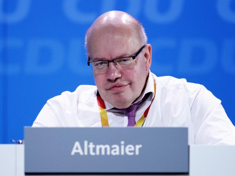 Altmaier will Milliarden-Entlastung für Unternehmen - Politik
