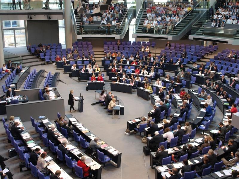 Bundestagssitzung im Plenarsaal des Reichstags Quelle über dts Nachrichtenagentur