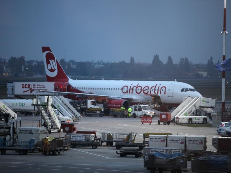 Erneut zahlreiche Flugausfälle bei Air Berlin