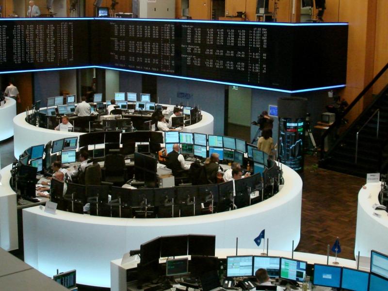 Börse in Frankfurt : Dax im Minus