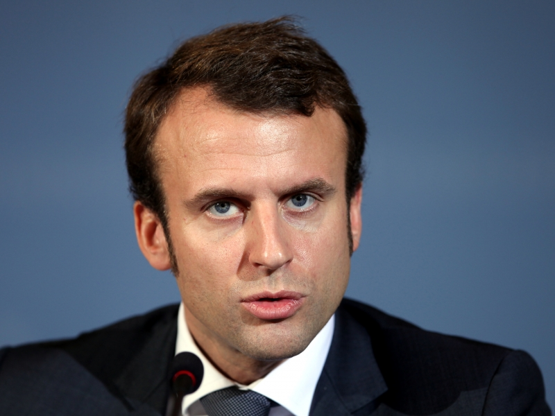 Wahl in Frankreich: Macron warnt: Deutschlands starke Wirtschaft schadet der