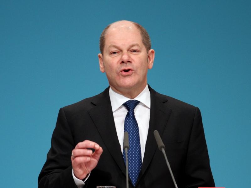 Parteivize Scholz - Knallhart-Abrechnung mit der SPD