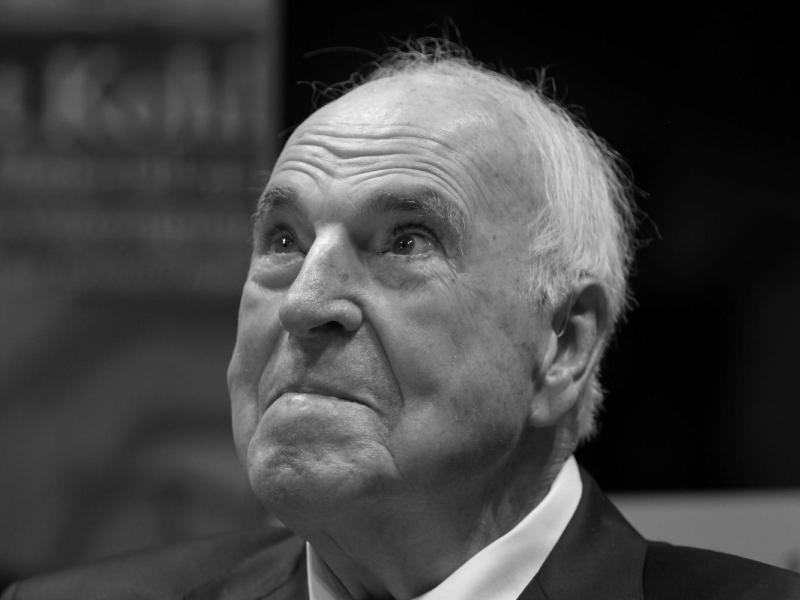 Präsidialamt und Innenministerium: Kein nationaler Staatsakt für Kohl