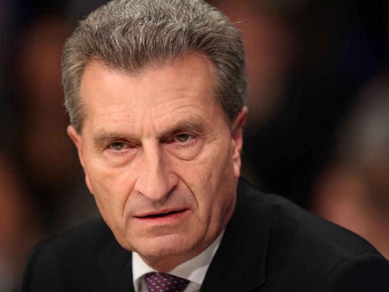Oettinger: Drei Milliarden Euro mehr aus Berlin