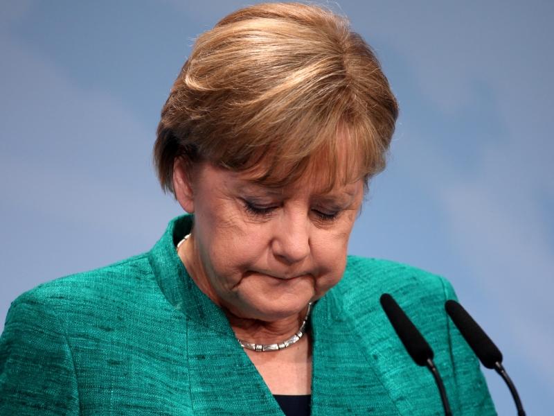 Beliebtheit von Merkel geschrumpft