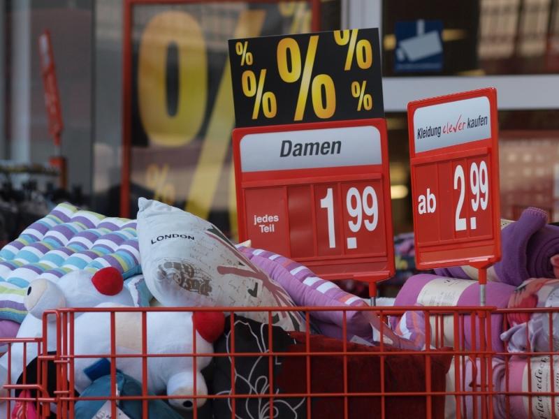 Inflation sinkt auf 1,6 Prozent