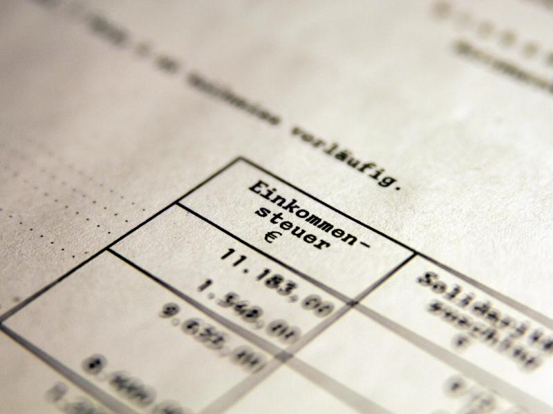 Spitzensteuersatz: 4,2 Millionen Arbeitnehmer zahlen 42 Prozent Steuern
