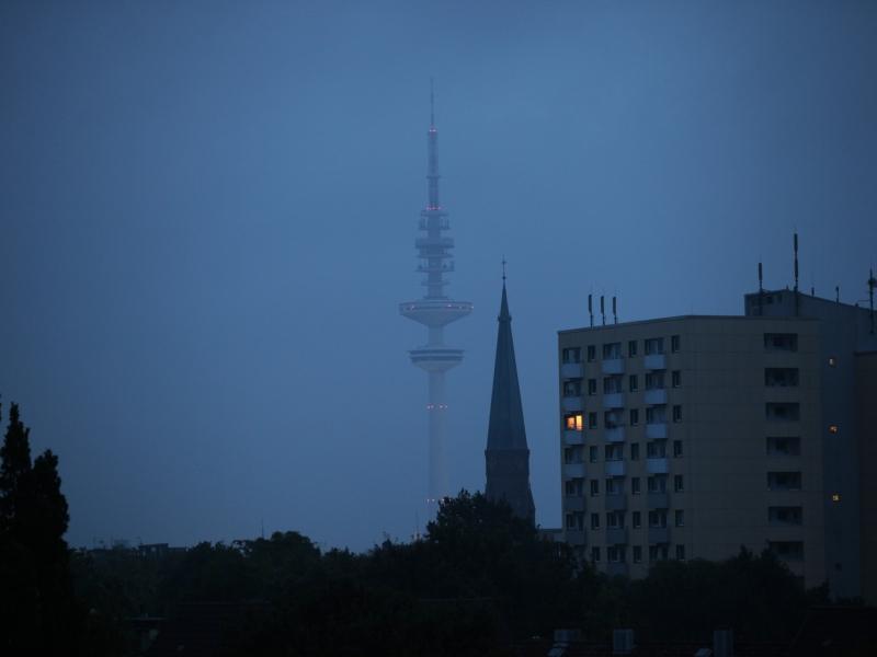 Heinrich-Hertz-Turm in Hamburg Quelle über dts Nachrichtenagentur