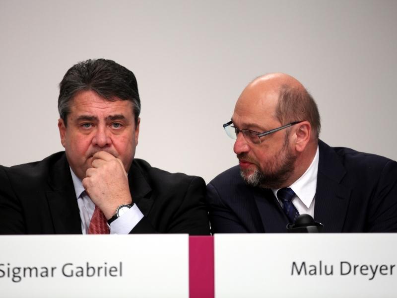 Schulz soll Entschuldigung von Gabriel angenommen haben