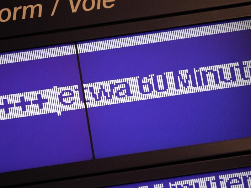 Immer mehr Übergriffe auf Bahn-Mitarbeiter